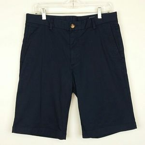 "Vineyard Vines Navy 11"" Stretch Breaker Shorts"